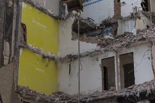 разрушаване на сгради